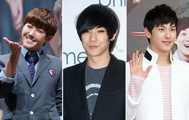 BFFs Kwanghee, Lee Joon, and Siwan Relax at a Spa
