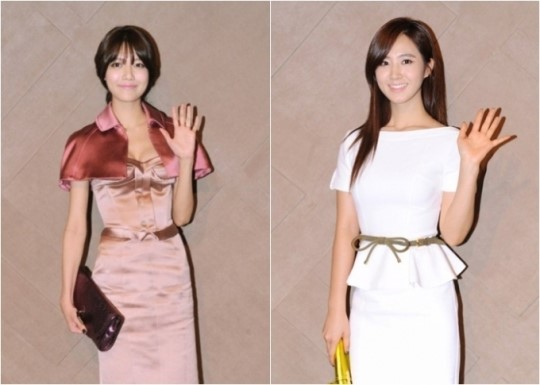 Girls' Generation's Yuri and Sooyoung Shine in Hong Kong