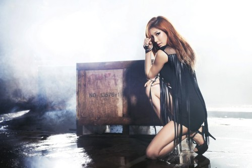 After School's Jung Ah Shows Off Her Smashing Body in Chile