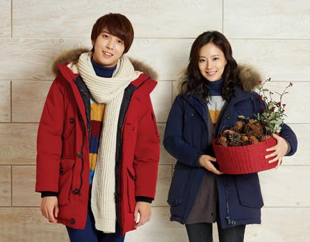 CNBlue and Moon Chae Won Look Cozy and Warm for BANG BANG