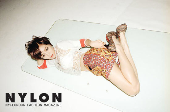 """BEG's Gain Poses Suggestively for """"Nylon"""""""