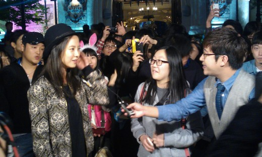 Song Ji Hyo Has Fun On Guerilla Date
