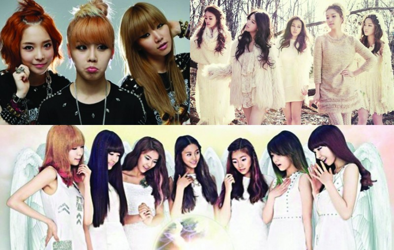 32 K-Pop Idol Girl Groups Made their Debut in 2012!