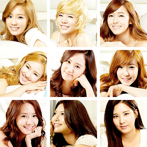 Girls' Generation Looks Beautiful in Bed for New Commercial