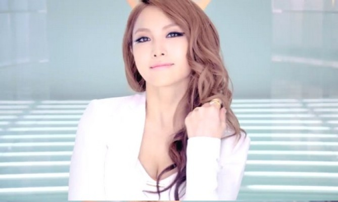 Kara's Gyuri Shows Off Her AniPang Score