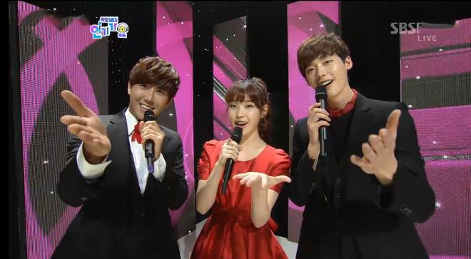 SBS Inkigayo K-Pop Festival 11.25.12