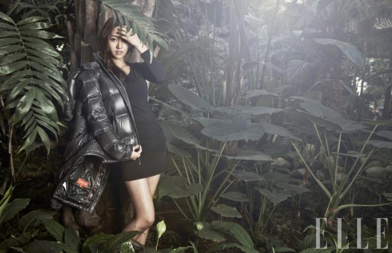 "Jeon Hye Bin's Jungle Concept Pictorial for ""Elle"""