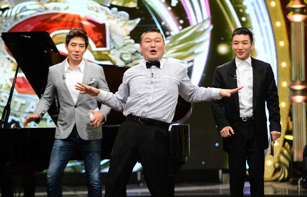 Kang Ho Dong Comes Back to Star King with the Horse Dance