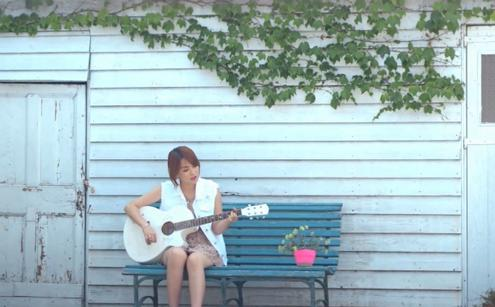 KARA's Kang Jiyoung Performs the Guitar for the First Time