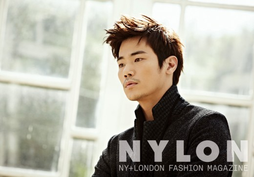 "Kim Kang Woo Shows Off His Sentimental Side in Fall Pictorial for ""Nylon"""