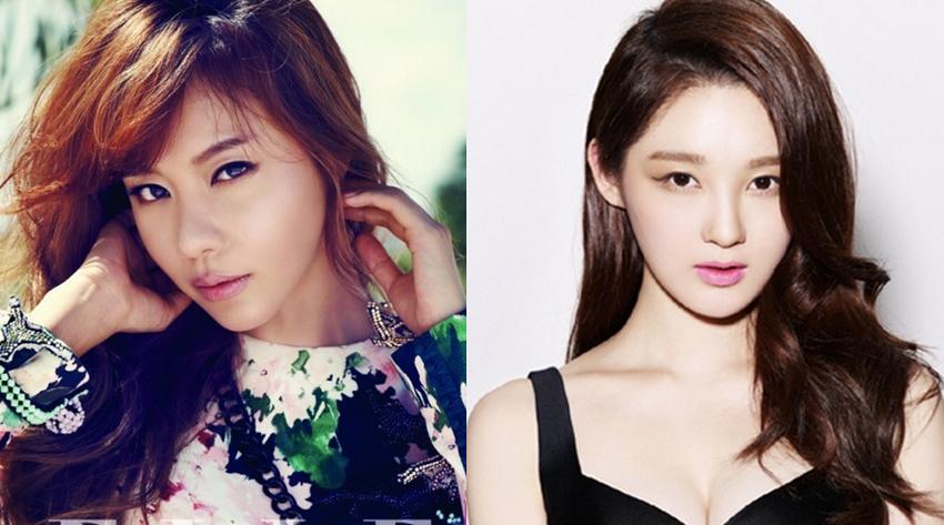 Kim Ah Joong vs. Kang Min Kyung: Who Has the Better Pre-Photoshopped Body?