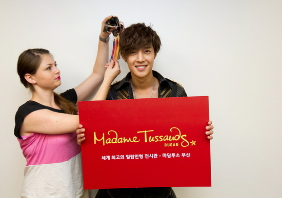 Kim Hyun Joong's Wax Figure Coming to Busan in December