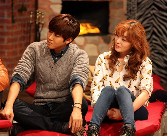 "Kwanghee and Sunhwa Express Affections Toward Each Other on ""Come to Play"""