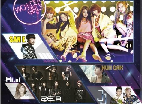 Wonder Girls, Huh Gak, and Other K-Pop Artist to Perform in Vietnam