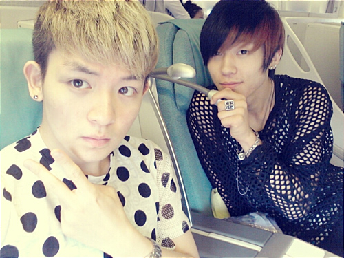 Teen Top's Ricky and Changjo Show Off Their New Convertibles