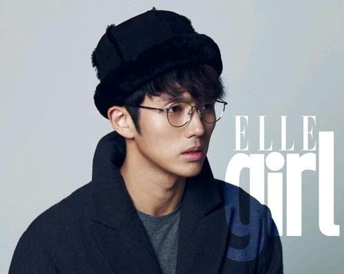 "2AM's Seulong Goes Military for ""Elle Girl"""