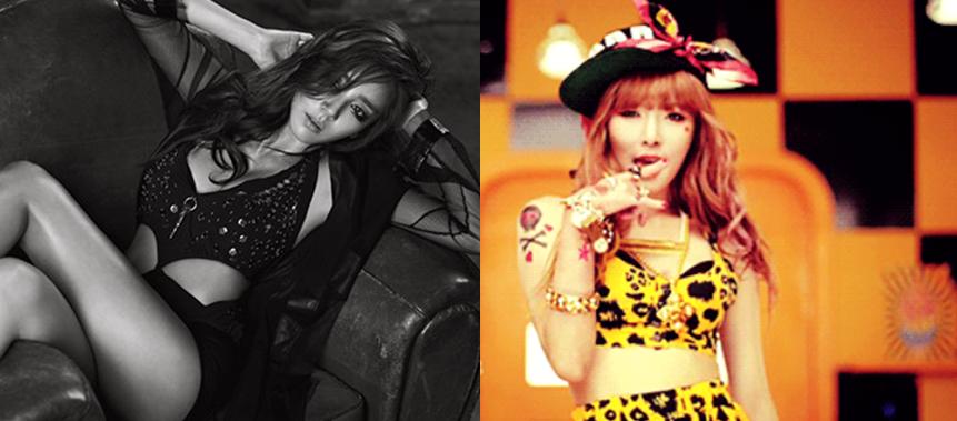 Son Dam Bi vs. HyunA: Who Is the True Sexy Queen?