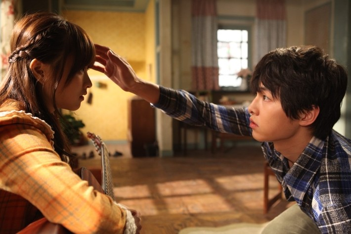 "BTS Clips of ""A Werewolf Boy"" Revealed"