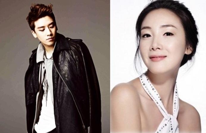 Big Bang's Seungri and Choi Ji Woo Get Close for Selca