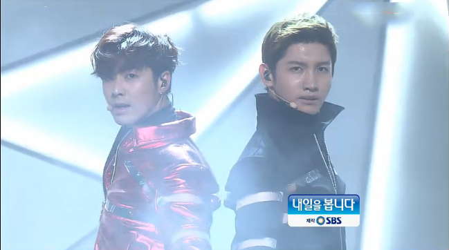 "DBSK Performs ""Humanoids"" on Inkigayo"