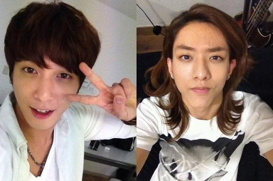 CNBlue's Jung Yong Hwa and Lee Jung Shin Are Twins?
