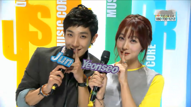 MBC Music Core 12.01.12