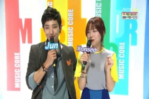 "Oh Yeon Seo Emcees ""Show! Music Core"" With Hubby Lee Joon Because She Was Jealous Of…?"