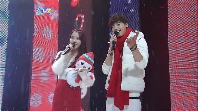 SBS Inkigayo Performances 12.02.12