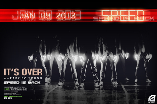 """Boy Group SPEED to Make a Comeback with """"It's Over"""""""