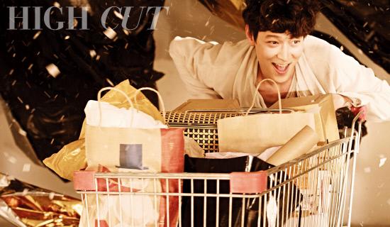 Kang Dong Won Makes Comeback Through High Cut Magazine