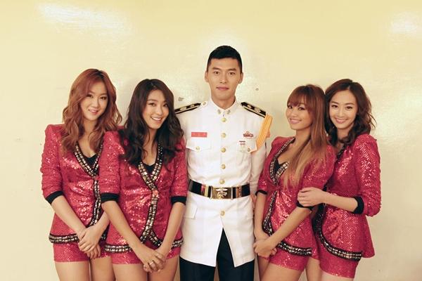 Hyun Bin Thanks SISTAR for Helping Him Get Through Military Training