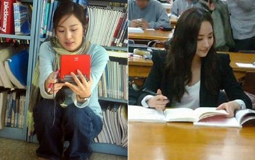 Who Do You Want to Study With? Kim Tae Hee vs. Park Min Young