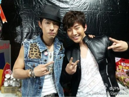 2PM's Junho Reveals Close Friendship With F4 Member Vanness Wu