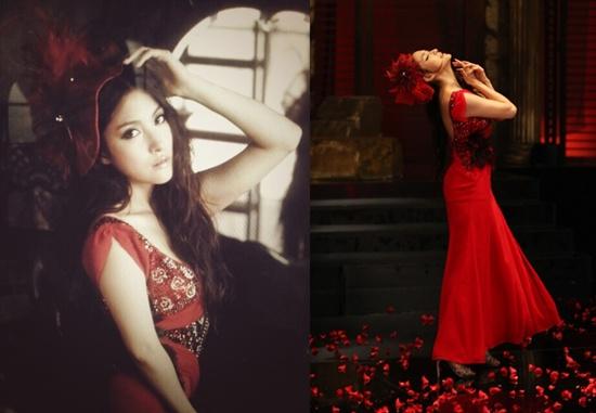 KARA's Gyuri Transforms into a Tango Goddess