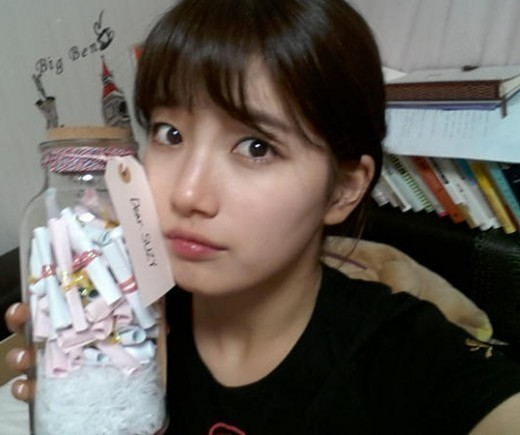 miss A's Suzy Thanks Fans for Homemade Gift