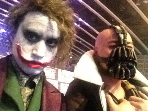 "Tablo and Mithra Jin Transform into Villains from ""Batman"""