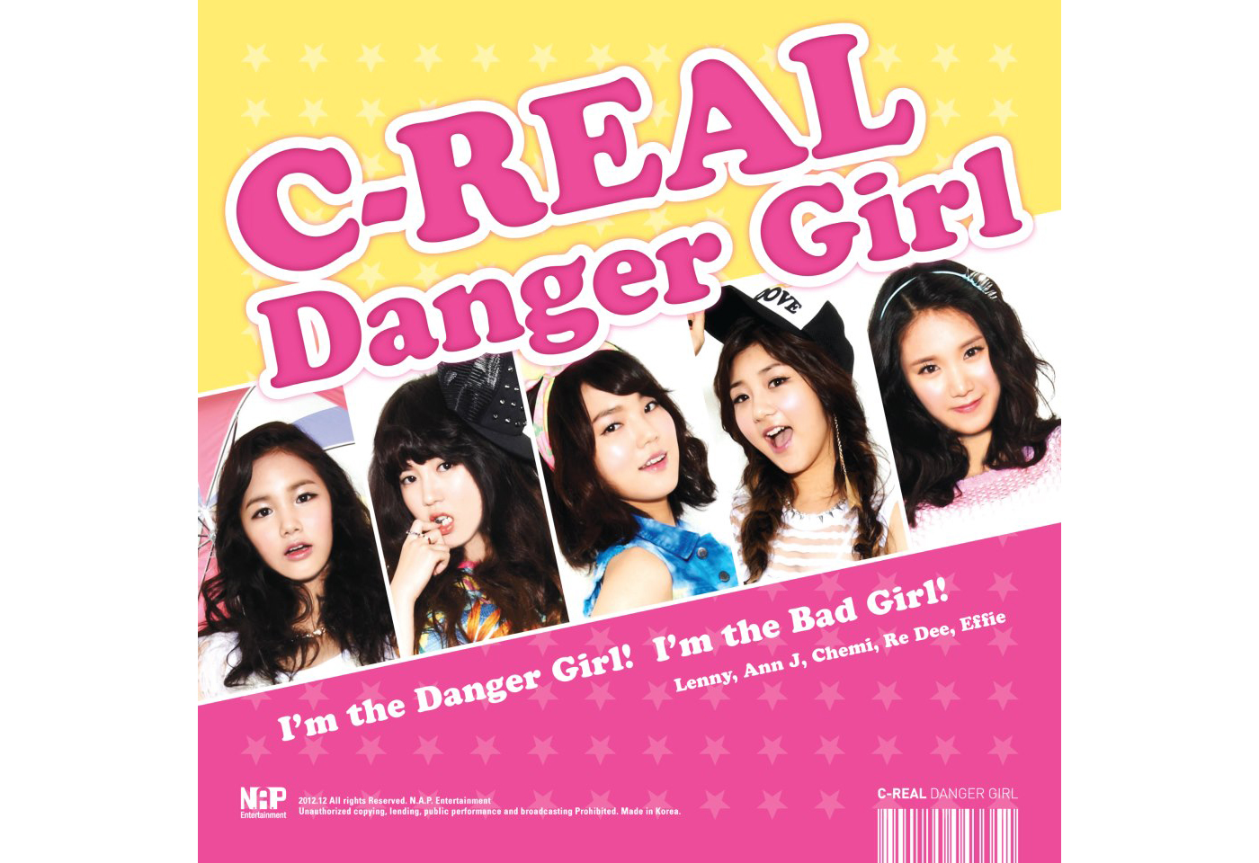 "C-REAL Reveals Music Video for ""Danger Girl"""