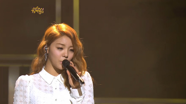 """Ailee Performs """"Evening Sky"""" on Music Core"""