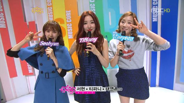 MBC Music Core 12.15.12