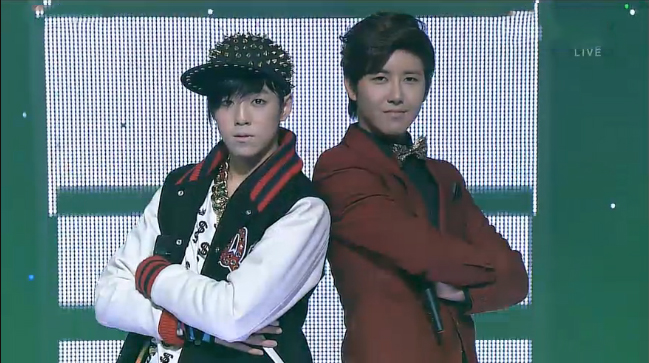 "New Inkigayo Hosts Lee Hyun Woo and ZE:A's Kwanghee Perform ""High High"""