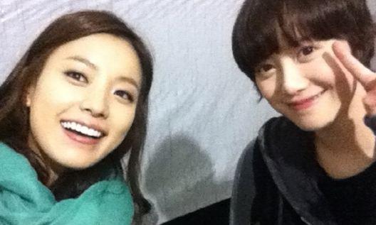Han Hyo Joo and Goo Hye Sun Prove They're Friends in Selca