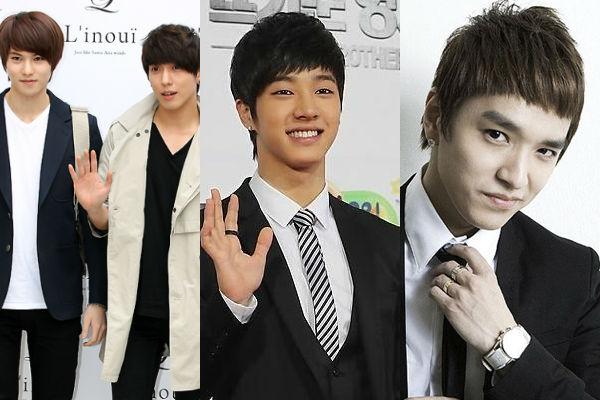 "Jung Yong Hwa, Lee Jong Hyun, Lee Gikwang & Simon D Spotted Filming for ""Running Man"""