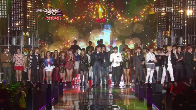 KBS Music Bank – 21 December, 2012