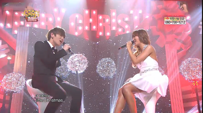 """K.Will and SISTAR's Hyorin Perform """"Have Yourself a Merry Little Christmas"""""""
