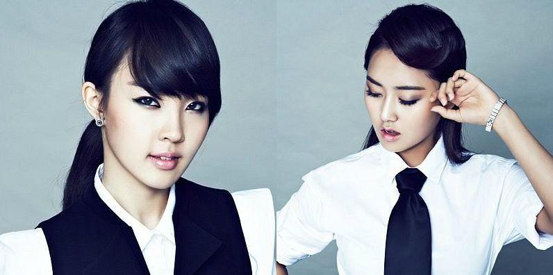 "4minute's Ga Yoon and Ji Yoon Form Project Group ""Double Yoon"""