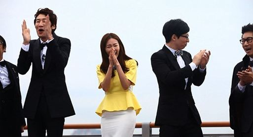 "More Pictures of Choi Ji Woo Filming ""Running Man"" Released"