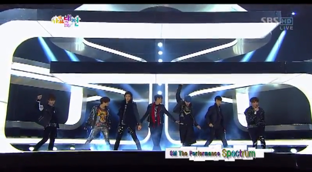 2012 SBS Gayo Daejun Performances