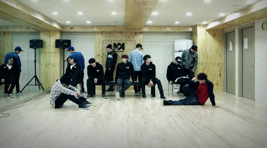 """B1A4 Reveals Dance Practice for """"Tried To Walk"""""""