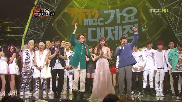 2012 MBC Gayo Daejun Performances