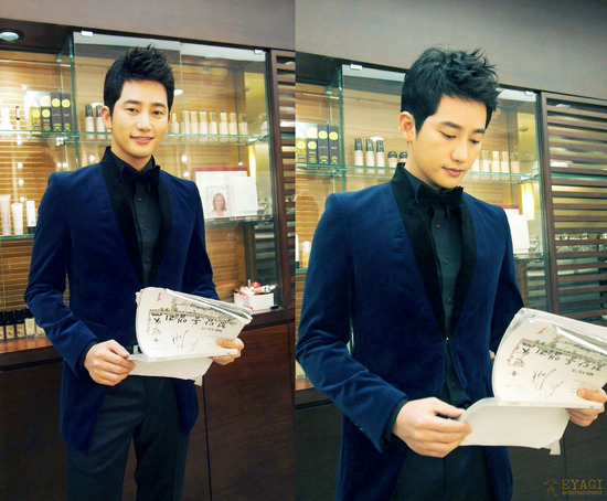 """Park Shi Hoo Is Thrilled For His """"Alice in Cheongdamdong"""" Drama Comeback"""